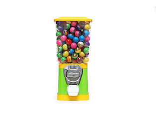 Fully Automatic Capsule Vending Machine , Green Colorful Mini Vending Machine