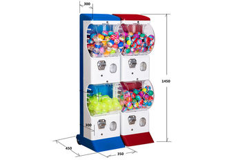 35*45*147CM Tomy Gacha Vending Machine 9 Colors Selection Long Working Life