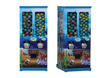 Easy Moving Capsule Dispenser Machine Expose Under Sun Available