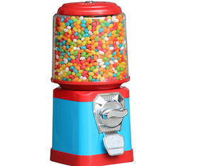 Colorful 24 Hours Candy Vending Machine Mid Size 1-6 Pieces Coins
