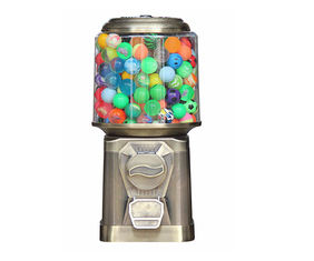 Bronze color mini vending machine accept 1''-1.4'' Gumball Warranty 1year For kids