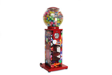 capsule vending machine 116cm 26kgs easy moving 2.5inch customized for mall