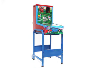 Colorful Coin Operated Soccer Table , Hand Soccer Table Modern Appearance