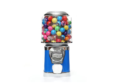 Gumball Capsule Candy Vending Machine 400pcs Coin Capacity Modern Appearance