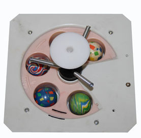 CE Certificated Vending Machine Accessories , 45mm Gumball Wheel Vending Parts