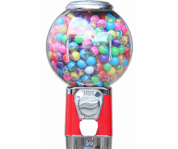 Mini Candy Vending Machine , coin operated candy / toys dispenser kid vending machine
